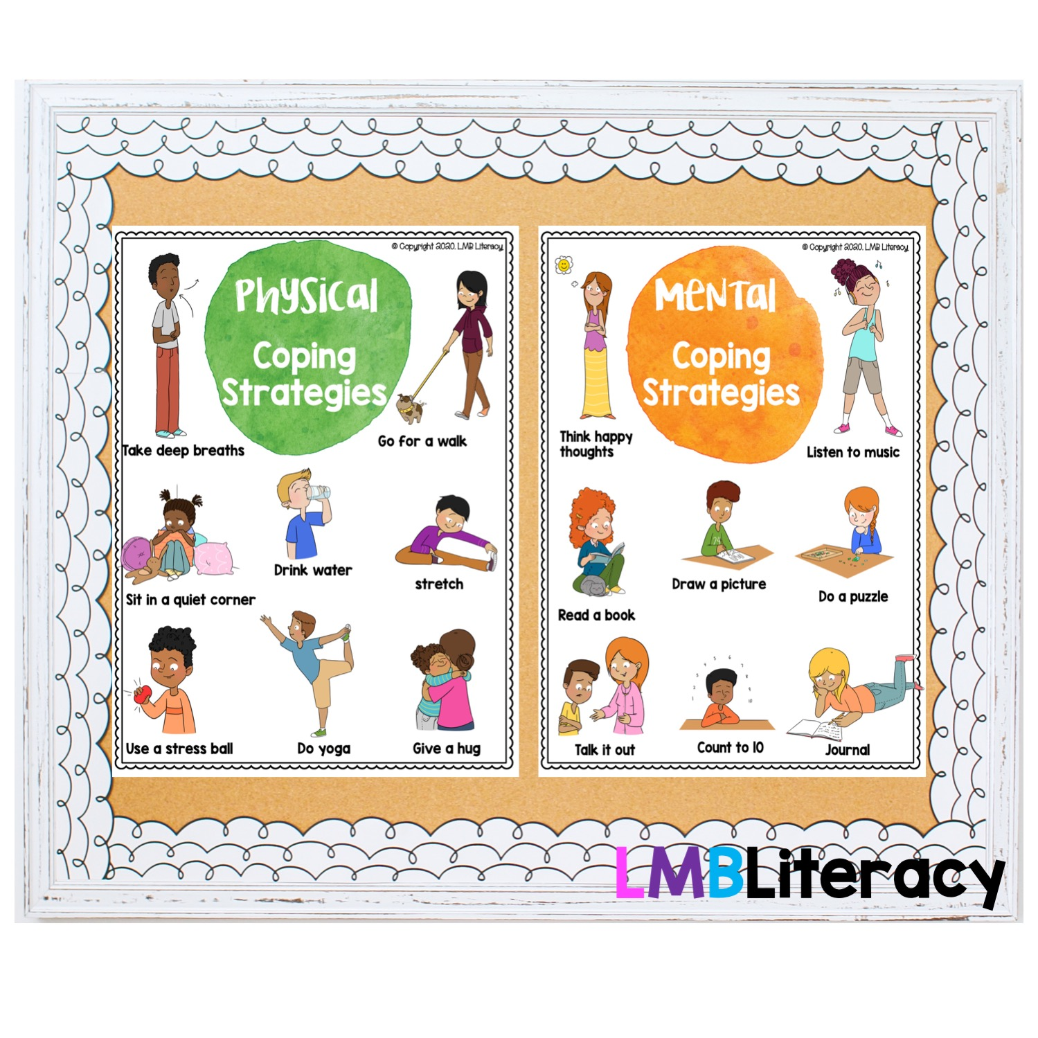 teaching coping strategies using visuals